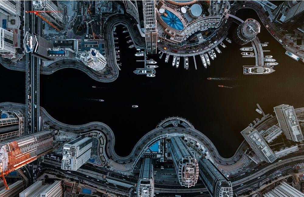 Dubai Marina © Carmine Chiriacò / droneawards.photo