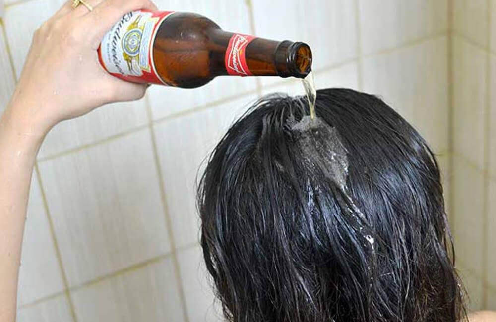 Beer for Shiny Hair @ valval282722 / Pinterest.com