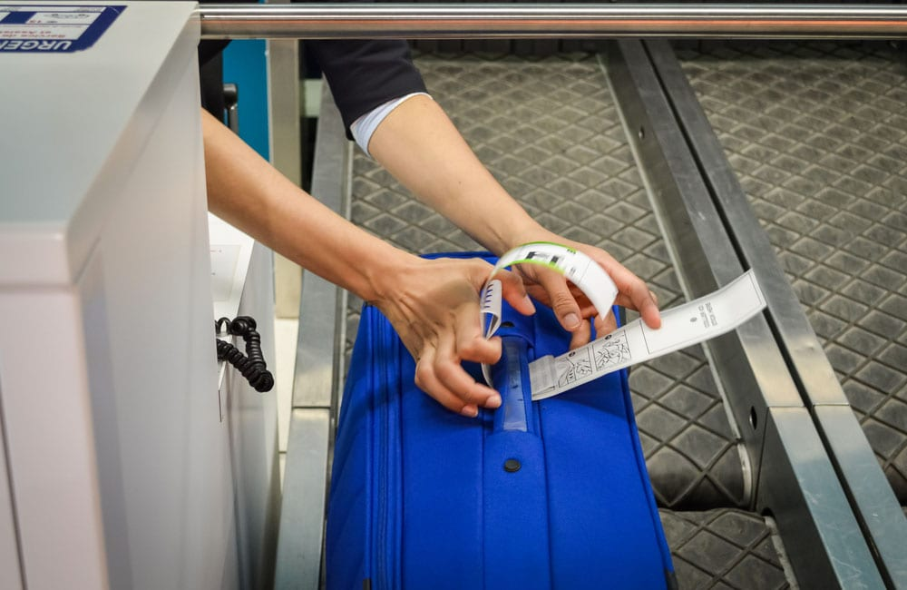 Take a photo of your checked luggage sebastianosecondi / Shutterstock.com