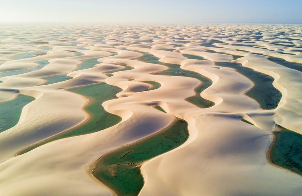 Paradise, Lencois Maranhenses National Park, Brazil @Pakawat Thongcharoen / Shutterstock.com