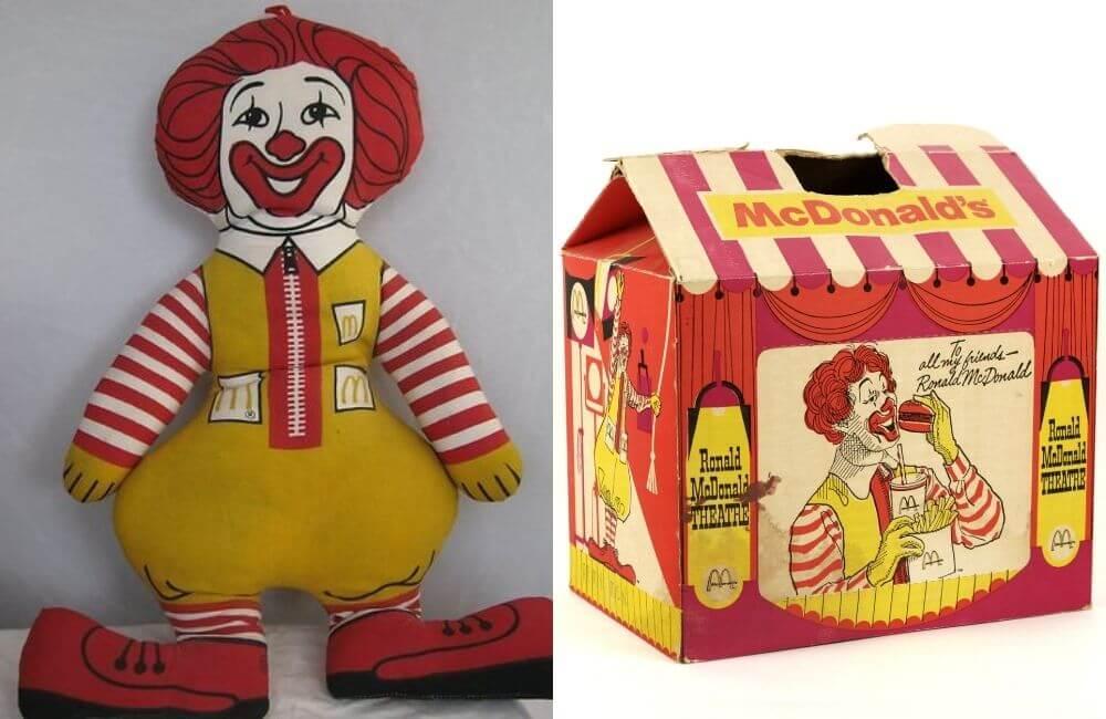 60s Ronald McDonald @Sherri Hausler-Dutton / @Ruth Hernandez / Pinterest.com