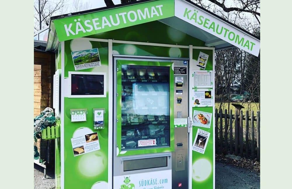 Cheese Vending Machines @ elsa.blooms / Instagram.com