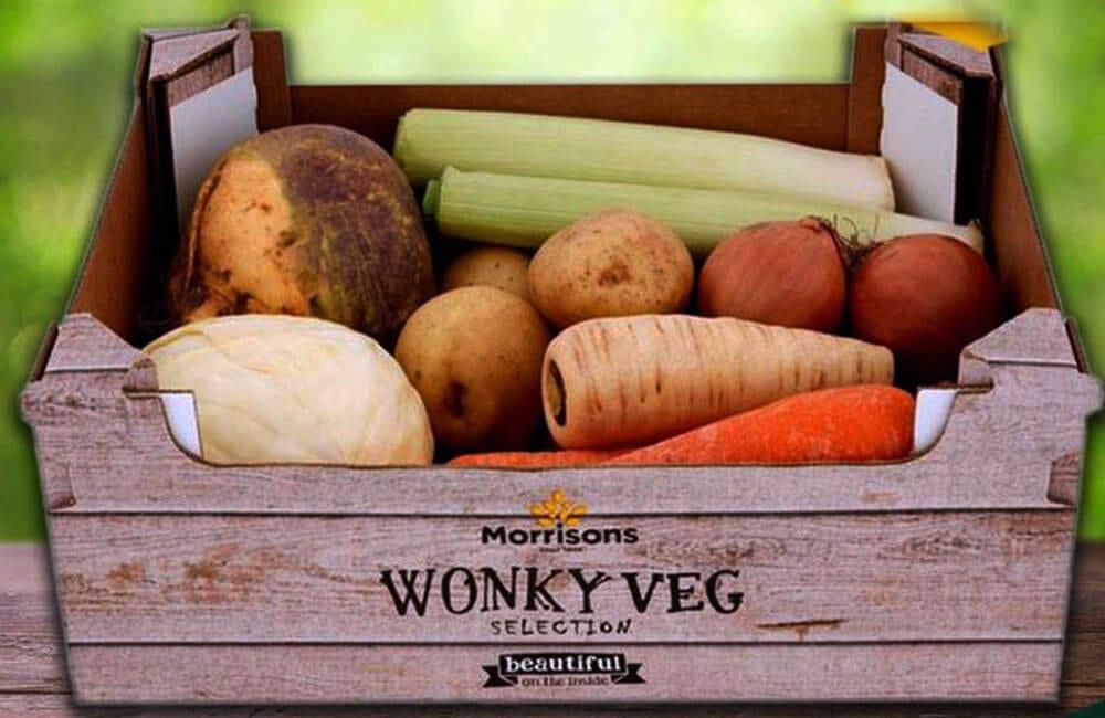Wonky Veg Boxes @Morrisons / Facebook.com