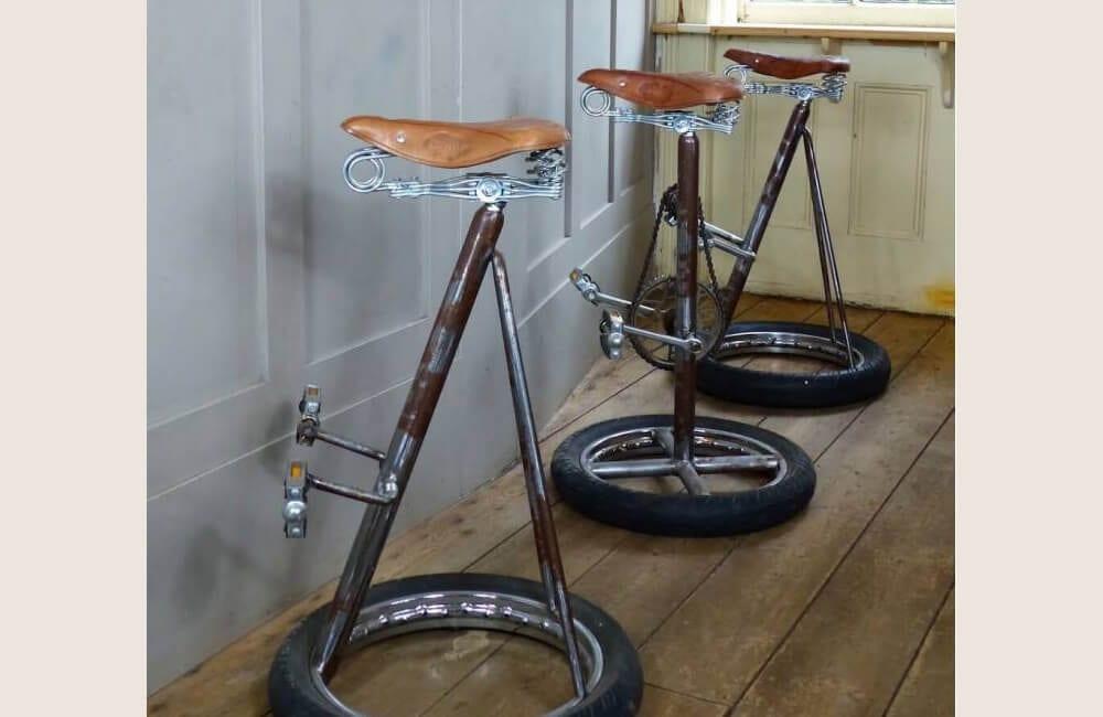 Bikes Into Bar Stools @smithersofstamford / Facebook.com