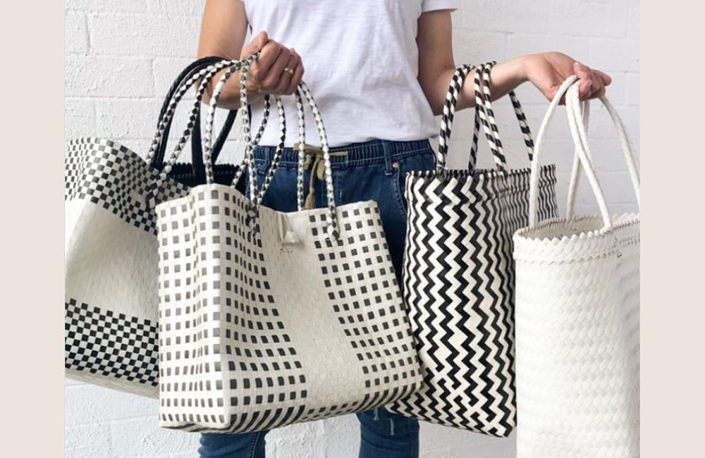 Plastic Bags Into Hand Bag @shortlistshop / Instagram.com