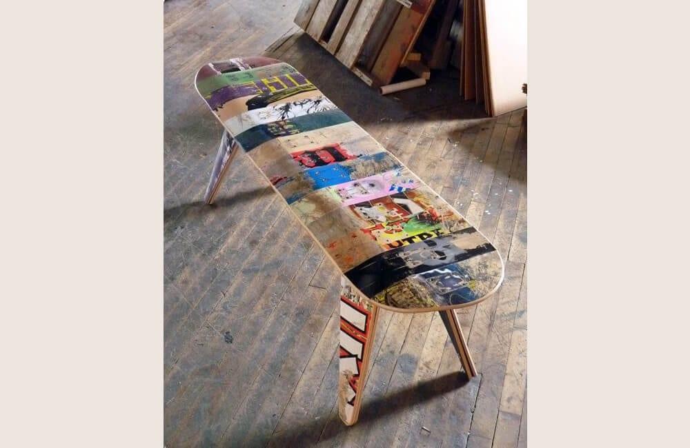 Skateboard Into Bench @ alyssascout107 / Pinterest.com