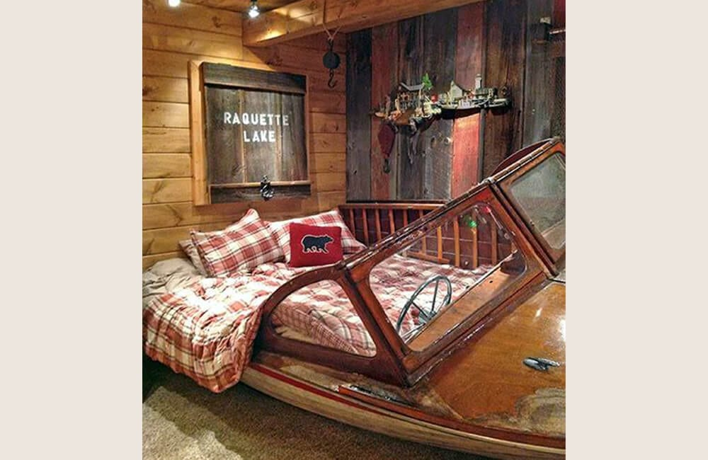 Speed Boat Into Bed @thisoldhouse / Pinterest.com