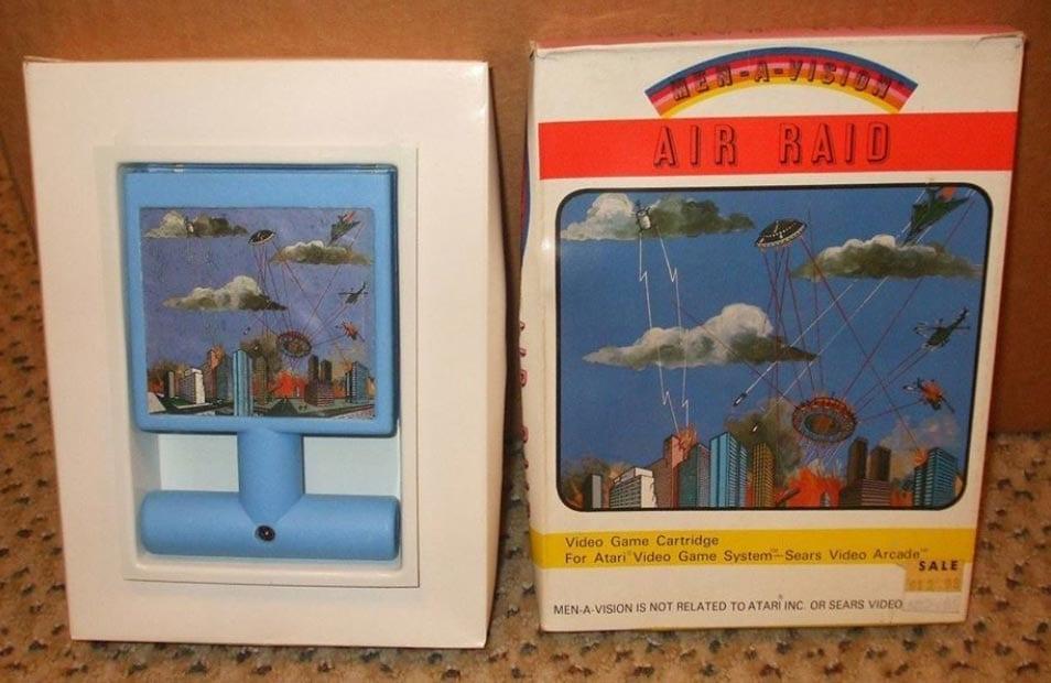 Atari 2600 'Air Raid' @Diaryofanarcadeemployee / Facebook.com