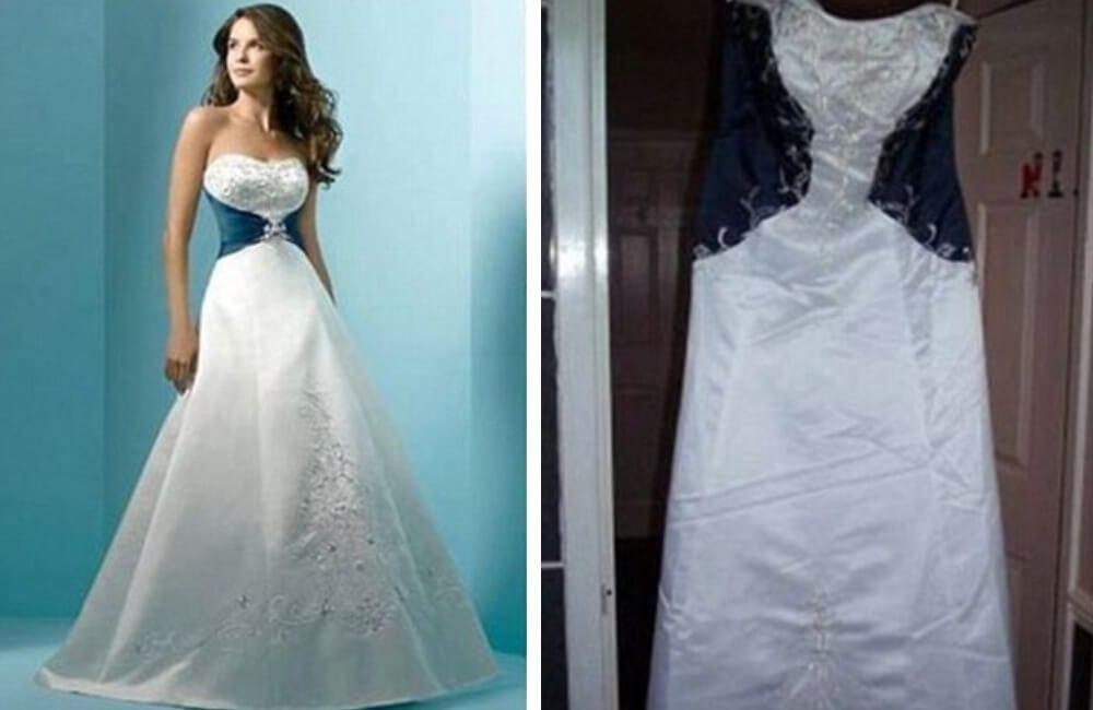 Celtic Style Gown @ BridesBeware / Facebook.com