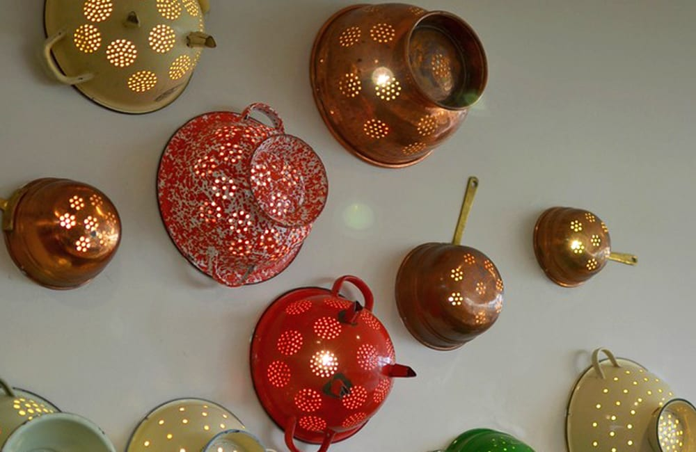 Collinders Into Wall Lamps @arquitrecos / Pinterest.com