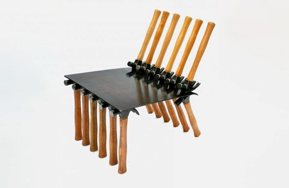 Hammers Into a Chair @gtaranto / Pinterest.com
