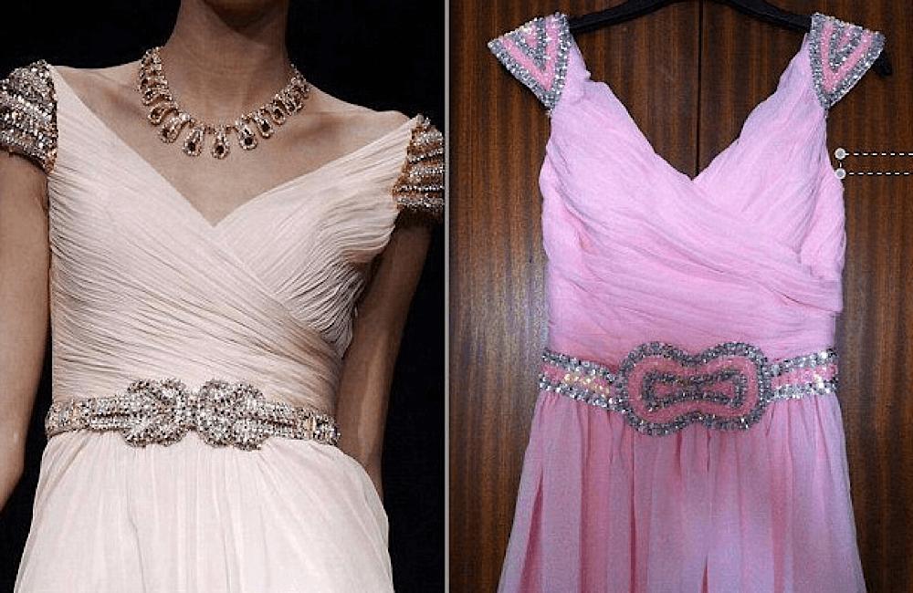Pink Belted Dress @ sealedwithakissbridal.blogspot.com