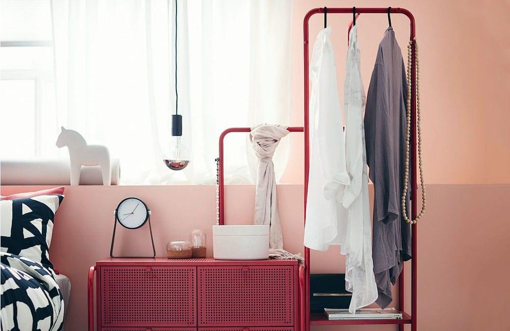 Nikkeby Clothes Rack @Lisa Colruyt / Pinterest.com