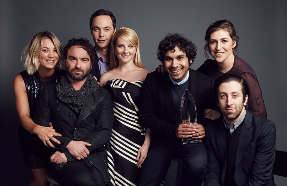 The Big Bang Theory Cast (Photo by Smallz & Raskind/Getty Images for The People's Choice Awards)