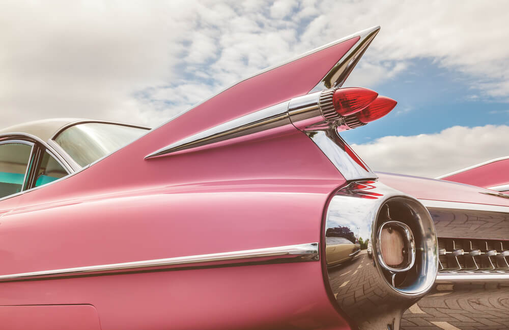 Classic Pink Cadillac© Martin Bergsma / Shutterstock