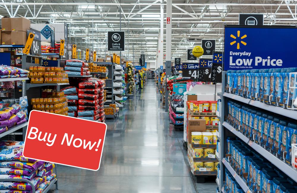 Walmart @Chekyravaa / Shutterstock