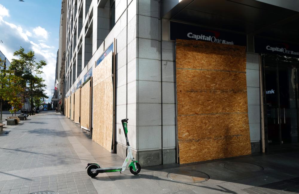 Abandoned Storefront in Washington, DC © Phil Pasquini | Shutterstock.com