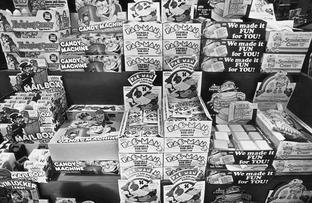 Candy Display 1982 Photo by Barbara Alper/Getty Images