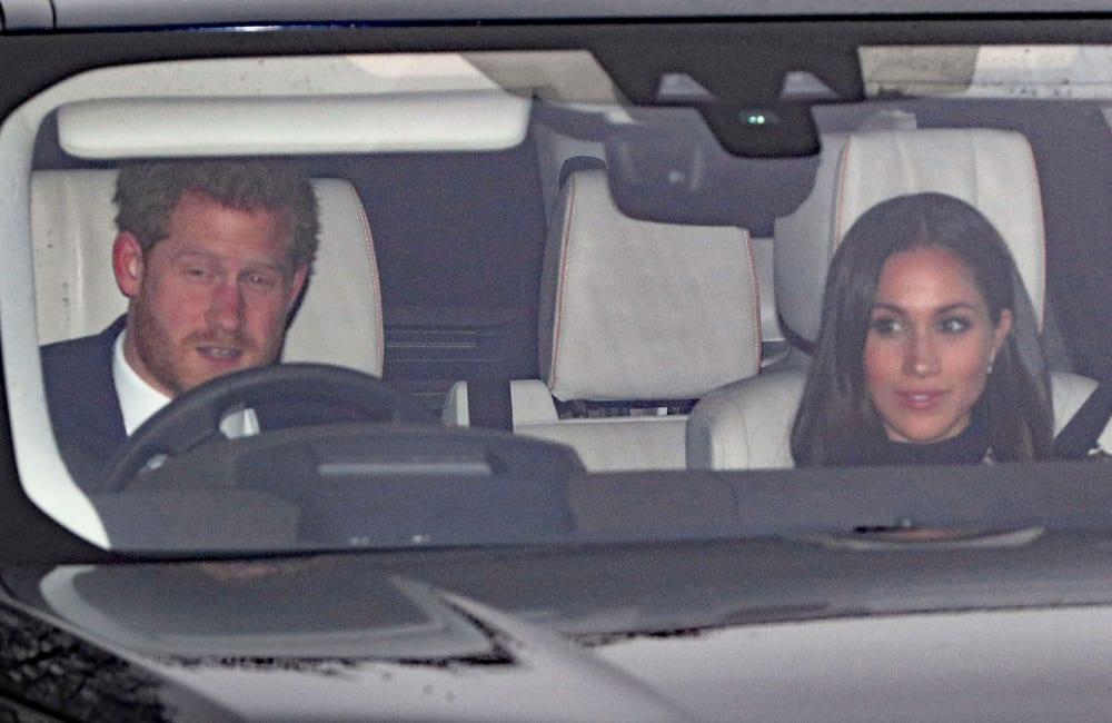 Prince Harry & Meghan @RoyalSightings/Twitter.com