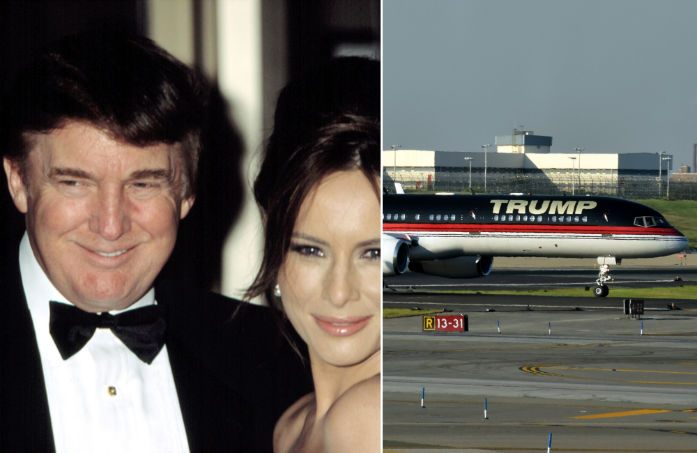 Donald Trump © Everett Collection / Trump Airlines © Ivan Cholakov | Shutterstock.com