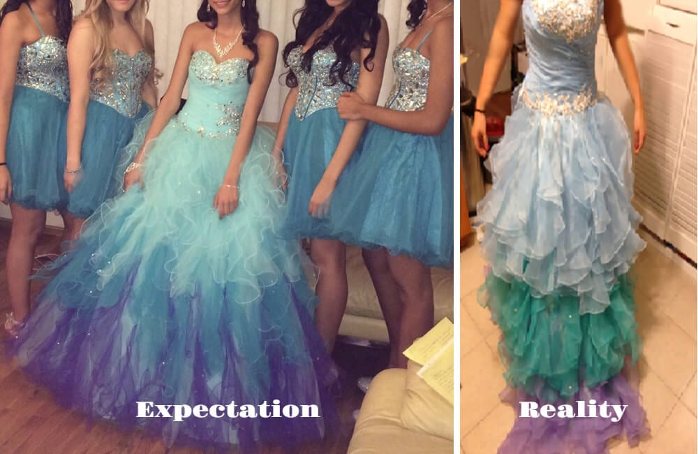 Mermaid Prom Dress @KnockOffNightmares/Facebook.com