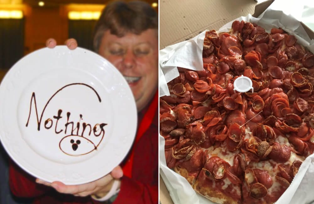 Nothing @RM/Twitter | Too Much Pepperoni r/FoodPorn/Reddit