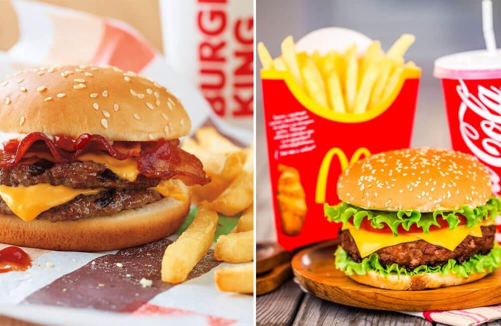 Burger King vs. McDonald's @Andrey Armyagov / Shutterstock.com