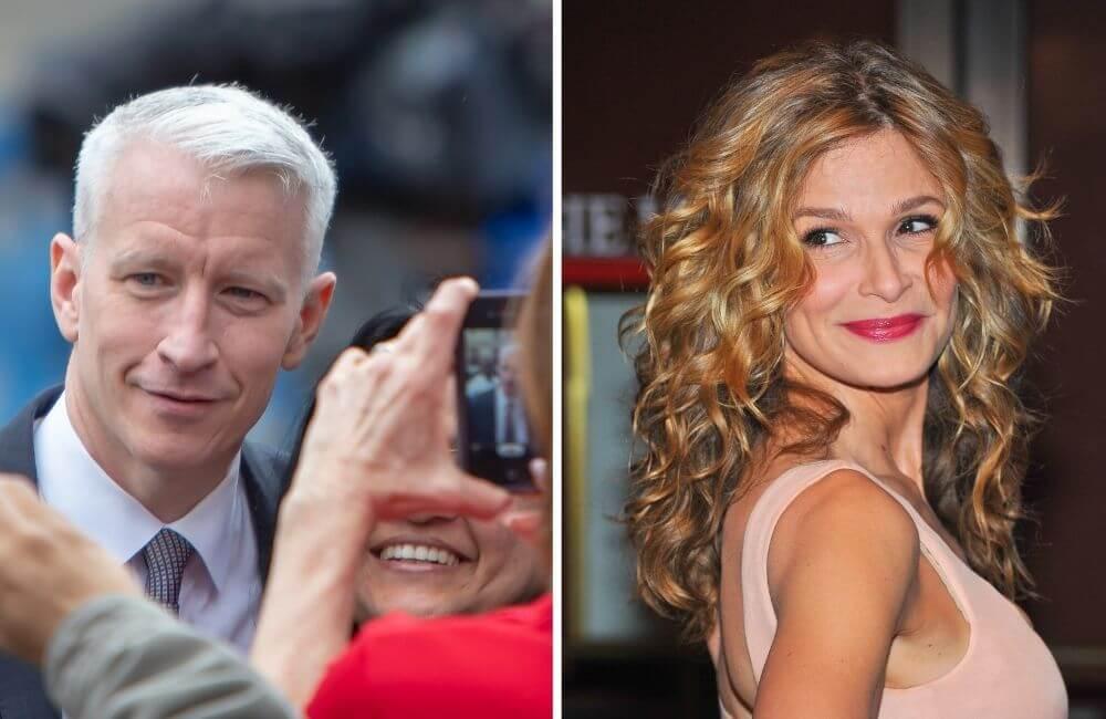 Anderson Cooper ©Jim Madigan | Kyra Sedgewick ©Everett Collection/Shutterstock.com
