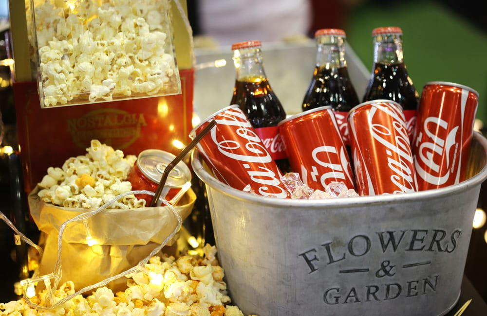 Coca-Cola in the Movies © aodaodaodaod   Shutterstock.com