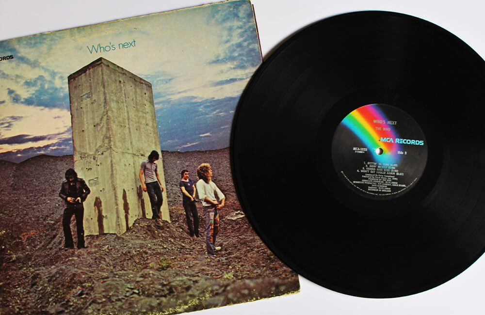 The Who Record @Blueee77 / Shutterstock.com
