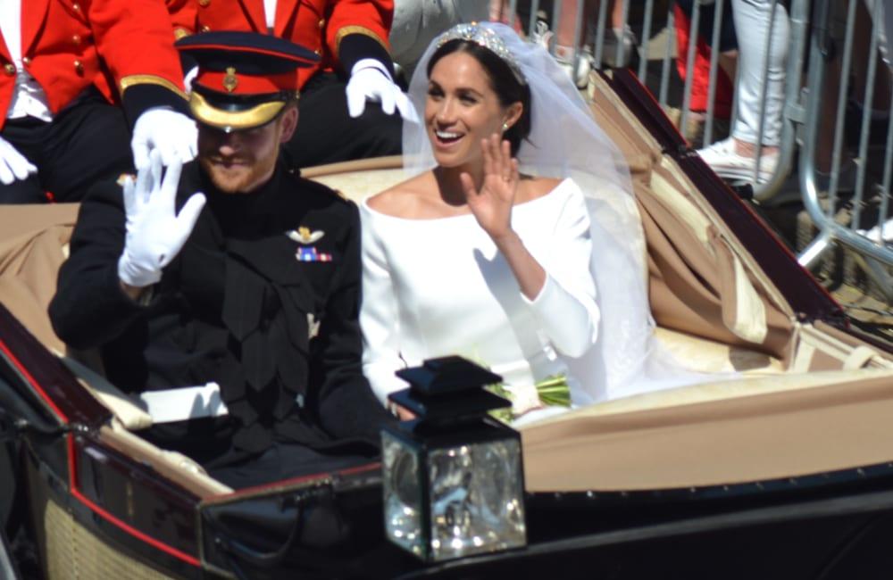 Meghan Markle Wedding Dress © Blueskynet | Shutterstock.com