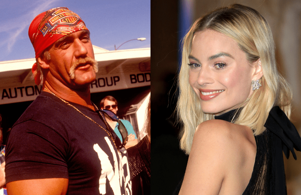 Hulk Hogan @Bart Sherkow and Margot Robbie @Cubankite / Shutterstock.com